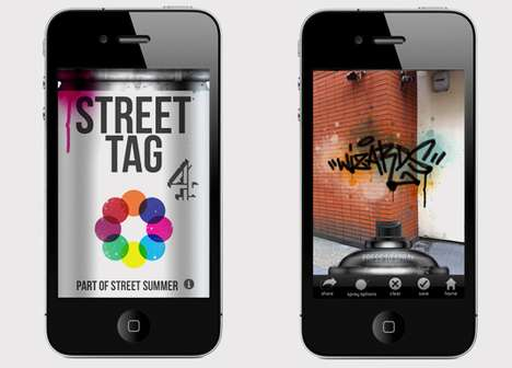 Smartphone Street Art Apps