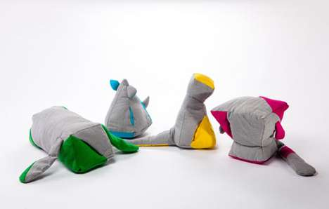 Abstract Animal Toys