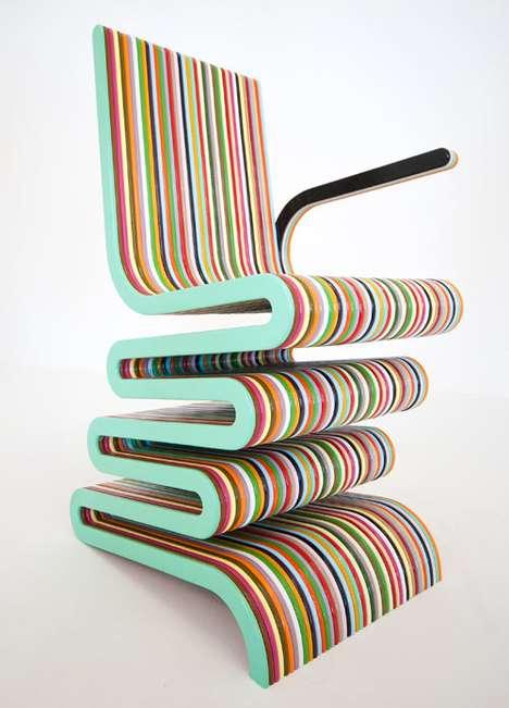 Bendy Rainbow Chairs