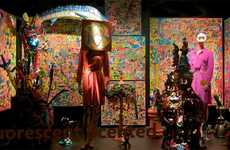 Surreal Window Displays - Barney's Roomscapes of the Imagination is Full of Creative Emotion