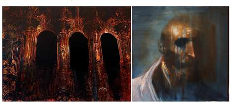 Haunting Otherworldly Paintings