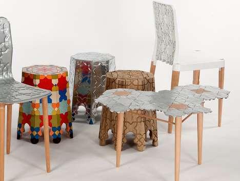 Culturally Ornamented Furniture