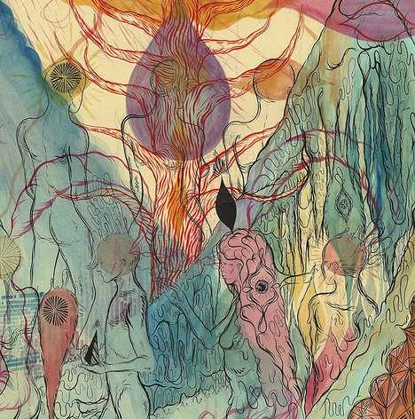 Disintegrating Energy Illustrations