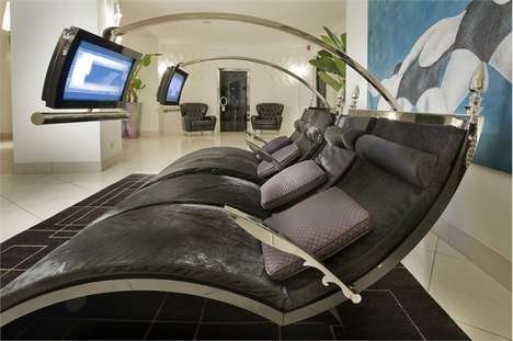 High-Tech Multimedia Loungers