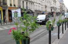 Parking Post Planters - Potogreen by Paule Kingleur Brings the Garden to Curb Guards
