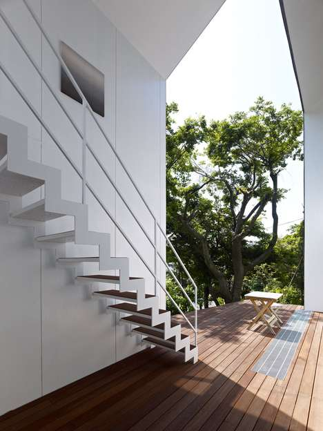 The Kochi Architect House Features Half of the Living Space Outside