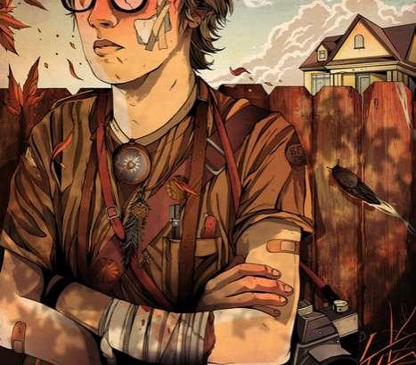Injured Hipster Illustrations