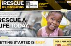Refugee Fundraising Sites - iRescue DIY Campaign Makes it Easy to Promote Important Causes