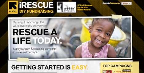 Refugee Fundraising Sites