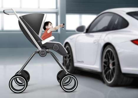 Sports Car Strollers