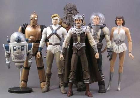 Sci-Fi Character Retrofications