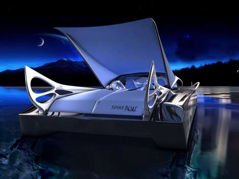 High-Fashion Speedboats