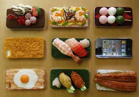 Edible-Inspired iPhone Skins - Suetake Sample Cases are Made from Hyperreal Food Sculptures