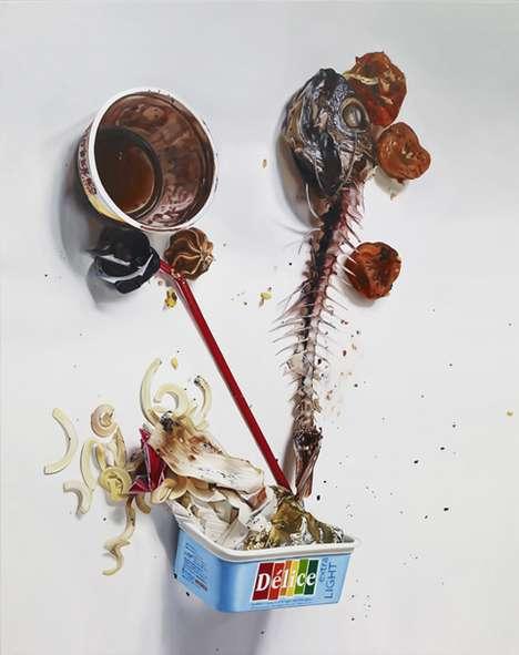 Wasteful Food Illustrations