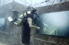 Underwater Exhibitions - Andreas Franke Encourages Deep-Sea Divers to Check Out His Work