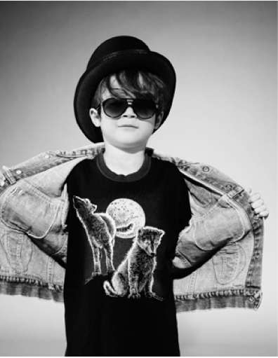Stylish Kiddie Lookbooks