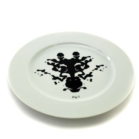 Ink Blot Dinnerware