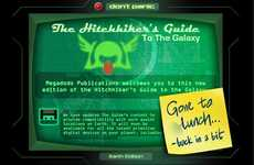 Interactive Galactic Apps - Hothead's 'Hitchhiker's Guide to the Galaxy' iPhone Application
