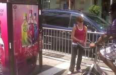 Pedal-Powered Water Dispensers - Vitaminwater Company Activate Releases a Cyclable Vending Machine