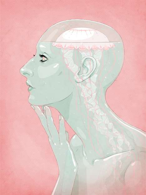 Jason Levesque Lets You Peer Into Surreal Anatomy