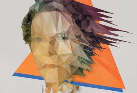 Prismatic Geometric Portraits