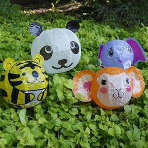 Inflatable Papercraft Critters