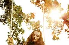 Sensual Nature Editorials - The Mackenzie Drazan by Thom Kerr Shoot is Organic and Gorgeous