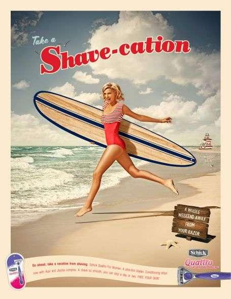 Retro Beach Campaigns