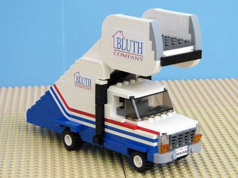 The Bluth Company LEGO Stair Car Pays Tribute to Arrested Development