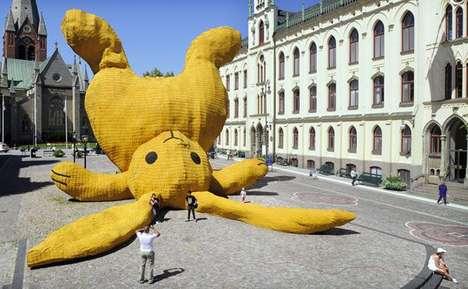 Giant Bunny Sculptures