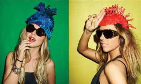 Eccentric Headdress Lookbooks