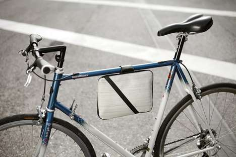 Bike Frame Tablet Holders - The Fahrer Berlin iPad Case Lets Cyclists Carry the Device with Ease