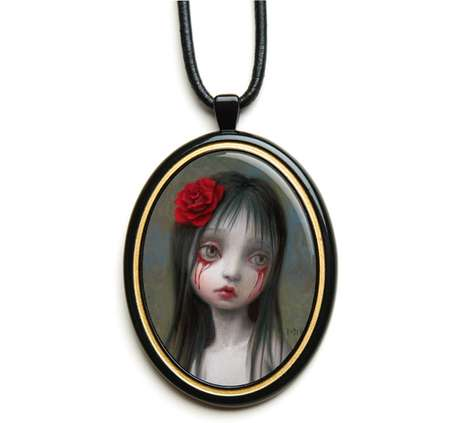 Blood-Weeping Necklaces
