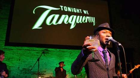 Hip-Hop Gin Commercials - The Aloe Blacc Tanqueray Commercial is Big City Cool