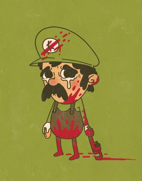 Weeping Gaming Illustrations