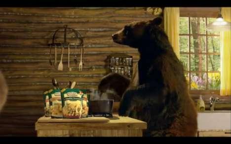 Real Bear Pasta Ads