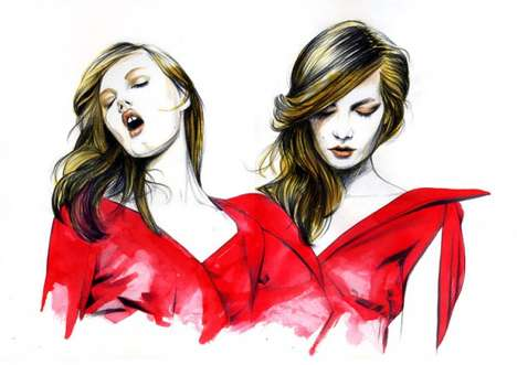 Elegant Fashion Illustrations