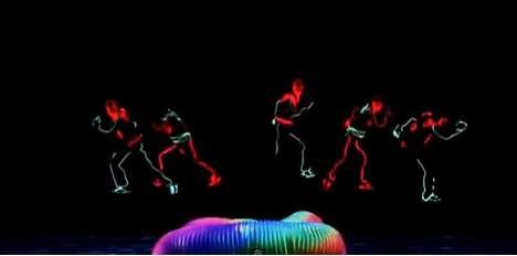 Choreographed Neon Dances