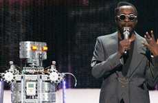 Superstar Androids - Celebrities Gather at the FIRST Robotics Championship to Support Robotics