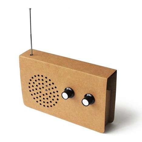 Retro Eco-Friendly Stereos