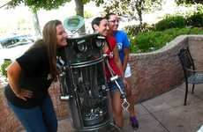 Informative Recycling Robots - The Dr. R.E. Cycler Makes Reusing Fun and Transparent for Kids