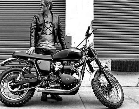 Classic Contemporary Motorcycles - The Jack Pine Triumph Scrambler is Made for City Riding
