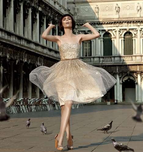 Opulent Italian Lookbooks