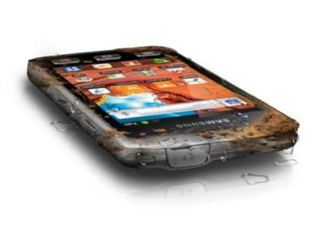 Mud-Splattered Smartphones