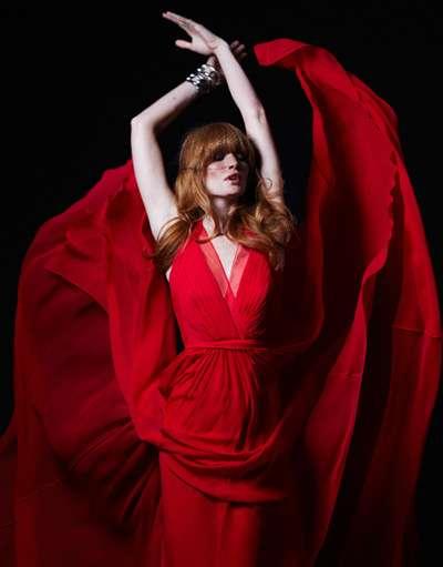 Scarlet Gossamer Gowns