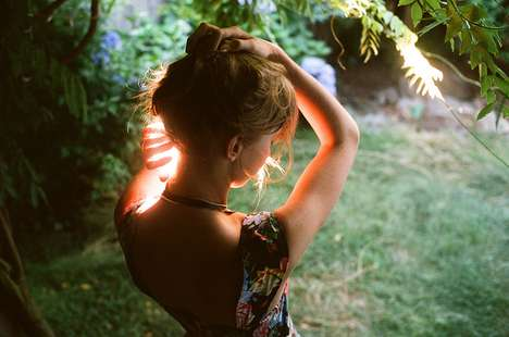 Fainting Forest Fairy Photography