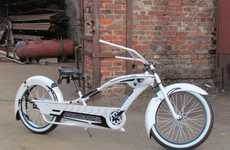 DIY Sci-Fi Bikes - The Custom Stormtrooper Cruiser Brands a Two-Wheeler in Star Wars Motifs