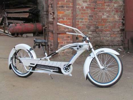 The Custom Stormtrooper Cruiser Brands a Two-Wheeler in Star Wars Motifs