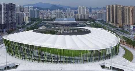 Bamboo Soccer Stadiums