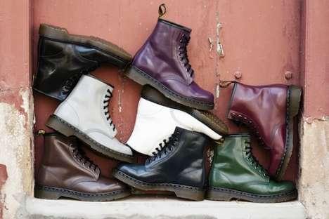 Furry Combat Boots : dr. marten 2013 fall